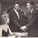 "Nat King Cole and Errol Flynn in ""Istanbul"""